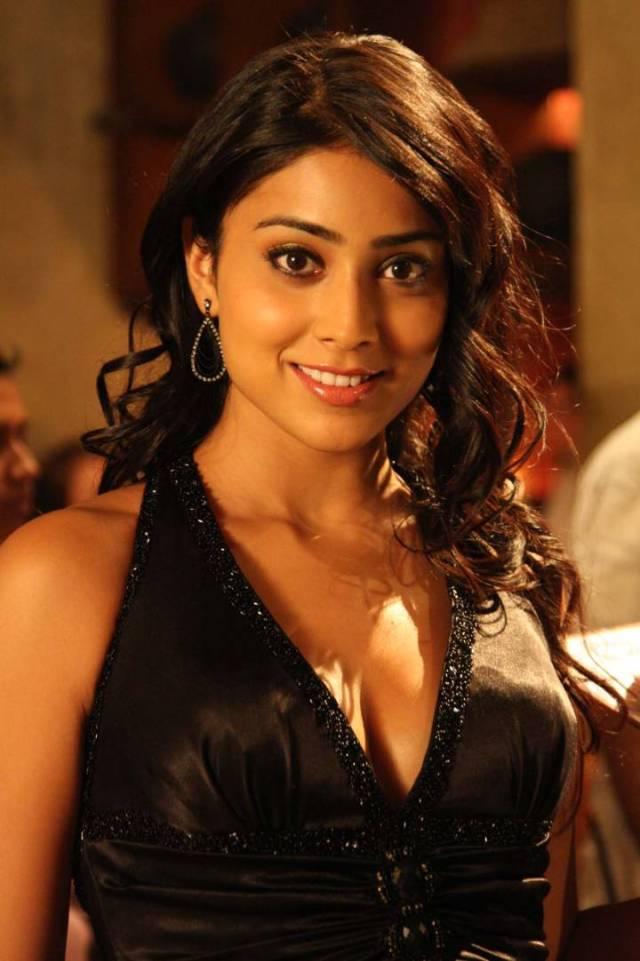 Shriya in black