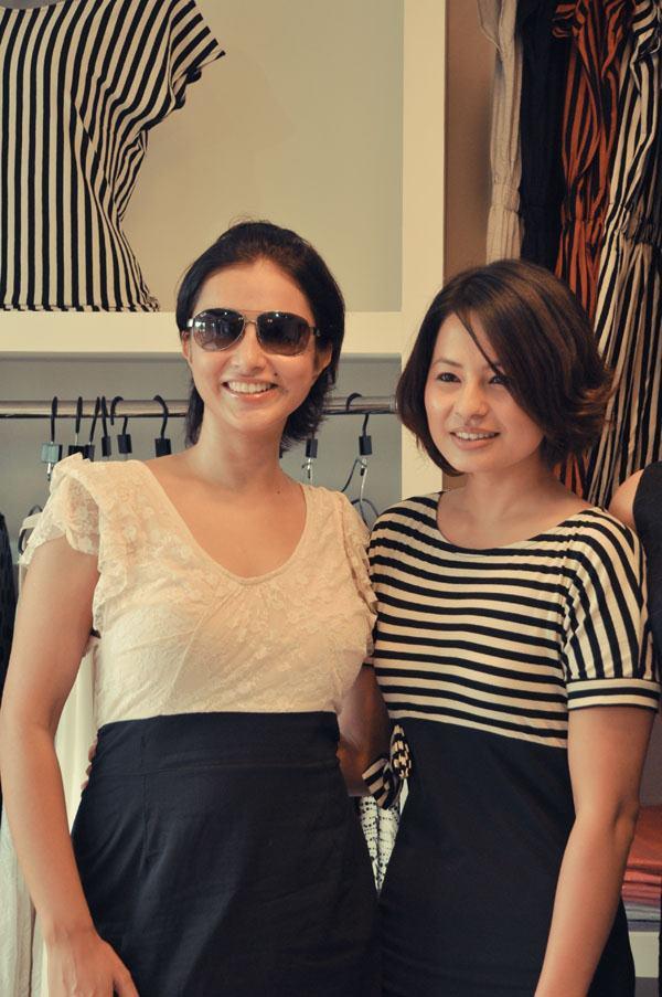Nisha Adhikari and Malvika Subba