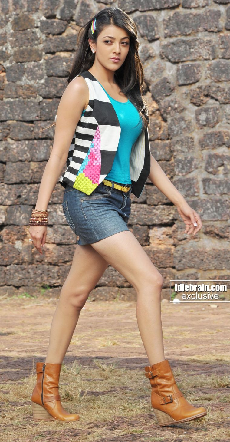Kajal Agarwal in mini