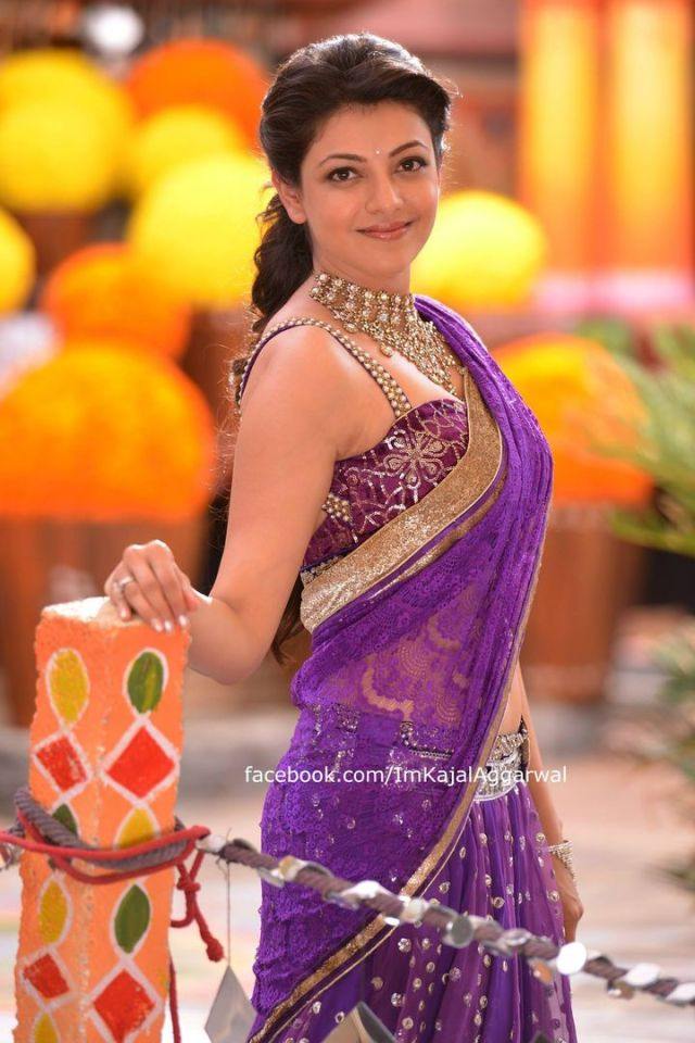 Kajal Agrawal in a saree