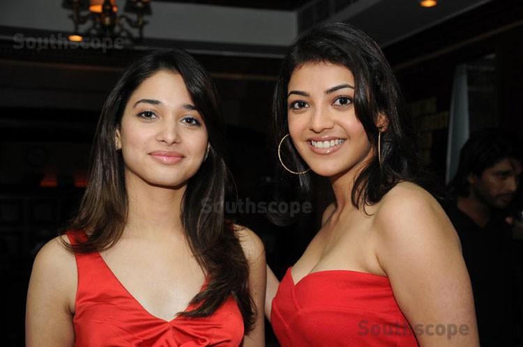 Tamanna Bhatia and Kajal Agarwal