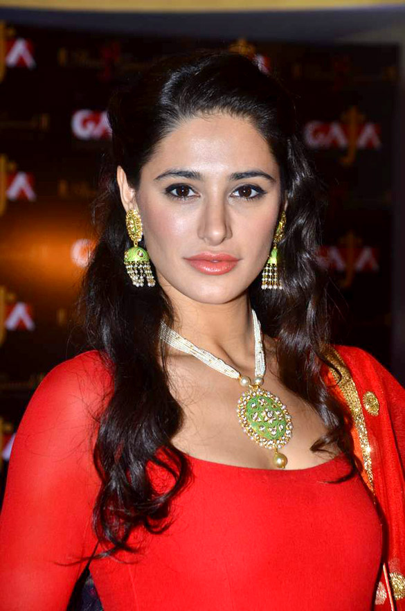 Nargis Fakhri in red