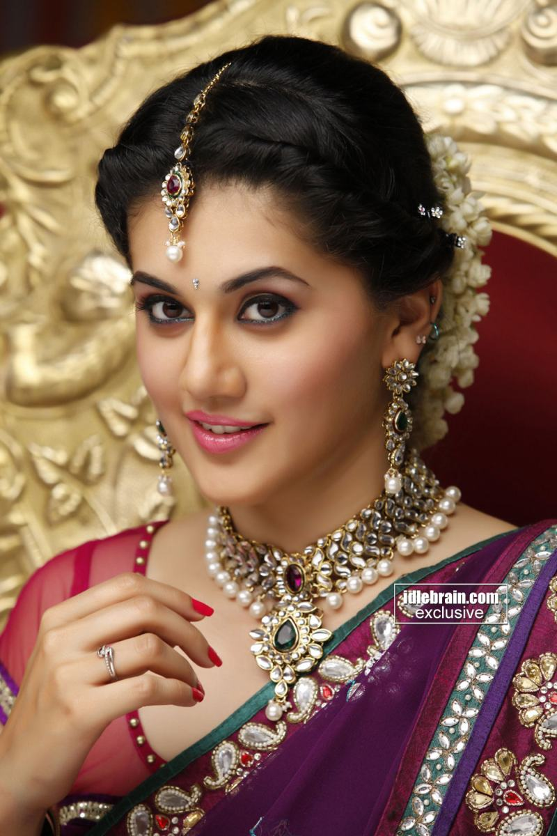 Beautiful Taapsee in a saree