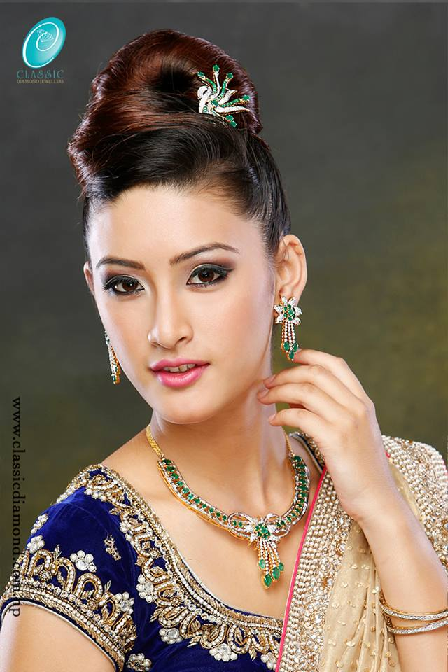 Neha Banu in Classic Diamonds ads
